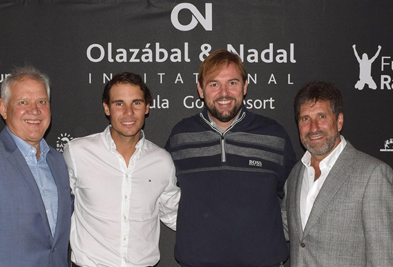 Cap Vermell Group sponsors the Olazábal & Nadal Invitational...