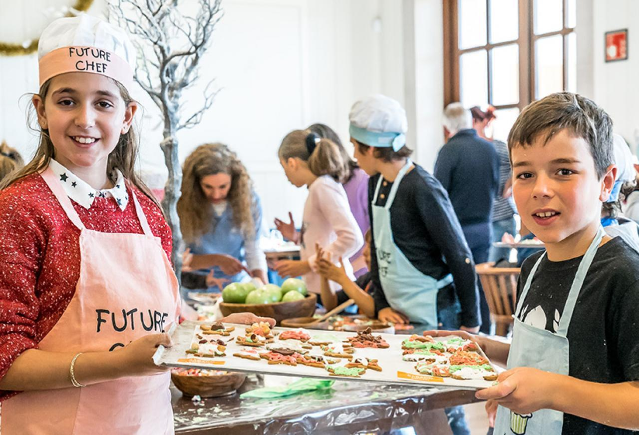 Cap Vermell Group hosts the second Christmas cookie workshop with...