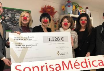 Cap Vermell Group donates the proceeds from the Christm...